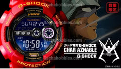 New Gundam Char Aznable X G-Shock 35th Anniversary Limited (Pre-order)