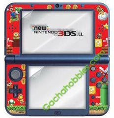 New 3DS LL Screen Protector with Super Mario Decoration (Pre-order)