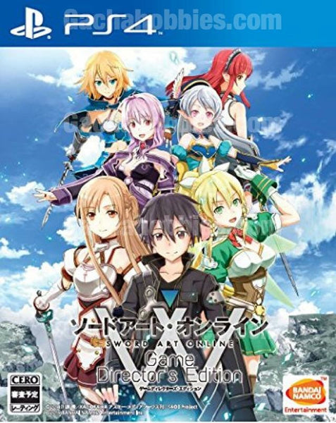PS4 Sword Art Online Game Director Edition