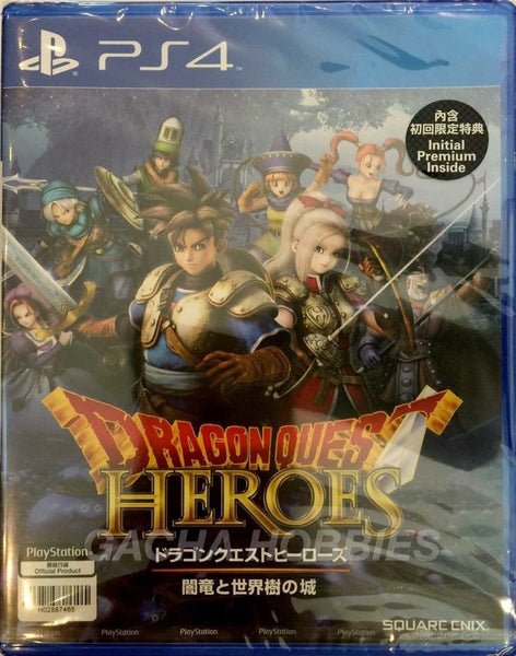 PS4 Dragon Quest Heroes Asia Version (Japanese)