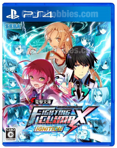 PS4 / PS3 / PSVita Fighting Climax Ignition