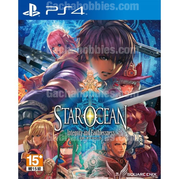 PS4 銀河遊俠 5 誠實與背信 (中文版) / PS4 Star Ocean 5: Integrity and Faithlessness (Pre-order)