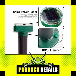 【50%OFF TODAY!!!】Solar Pest Repeller(BUY 2 SAVE MORE!!!)