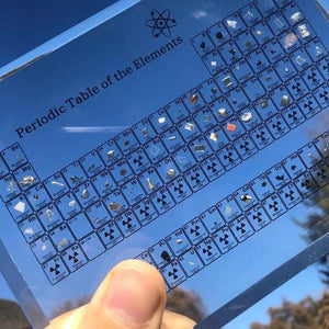 ☀Only $17.99 TODAY🌈Limited edition of 100 pieces🍁Collectable  Periodic Table with REAL Elements 🌳 ❗
