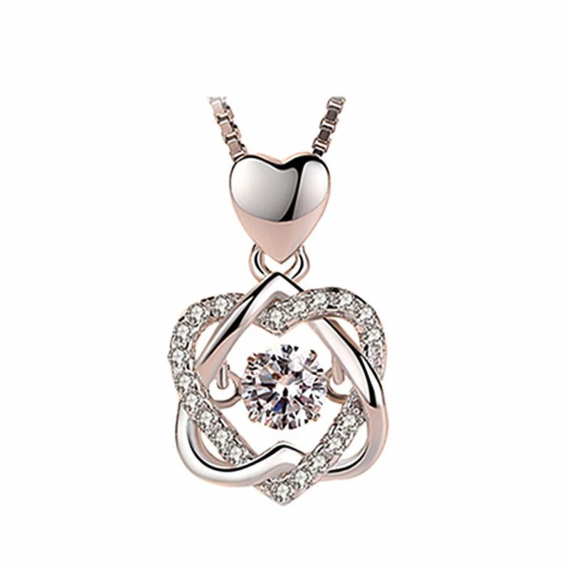 Topaz Pendant Necklace Set Sterling Silver 2.75 Carats(Buy 2 Free Shipping)
