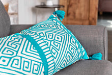 Load image into Gallery viewer, Jaipur Turquoise Cushion