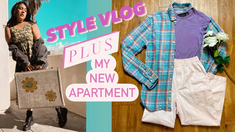 Vintage YouTube Video for Trailer Boutique Online Thrift Shopping in southern California Personal Stylist
