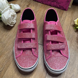THRIFTED VANS GLITTER SHOES