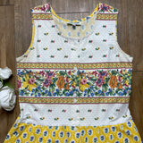VINTAGE MULT-PRINTED DRESS