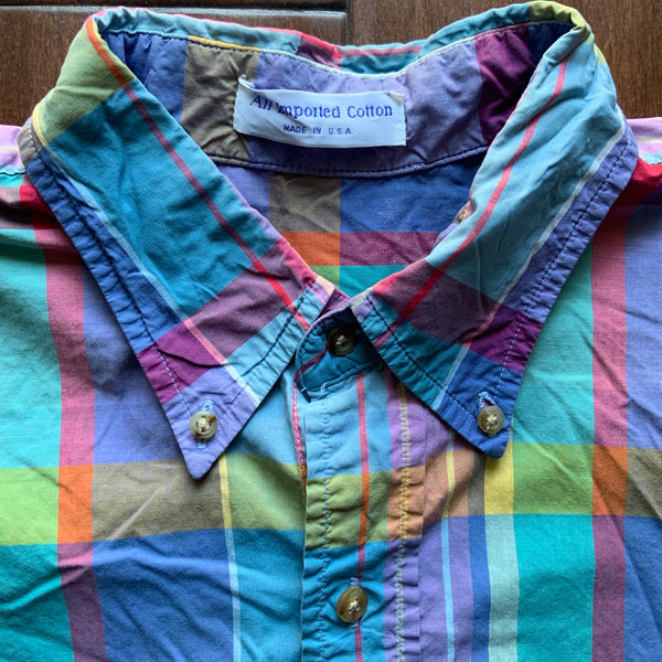 VINTAGE MENS BUTTON-UP