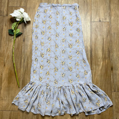 VINTAGE COTTAGECORE TEA PARTY MAXI SKIRT