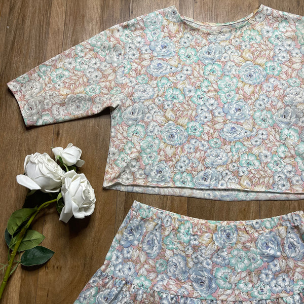 VINTAGE REWORKED TWO-PIECE