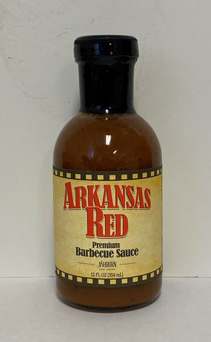 Ashburn Arkansas Red BBQ Sauce, 12oz.