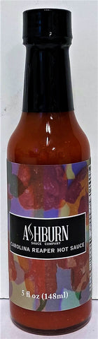 Ashburn's Carolina Reaper Hot Sauce, 5oz.