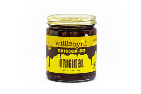 Willie Byrd Original Dark Chocolate Sauce 10oz