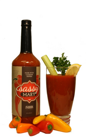 Ashburn Sassy Mary's Bloody Mary Mix, 32 oz