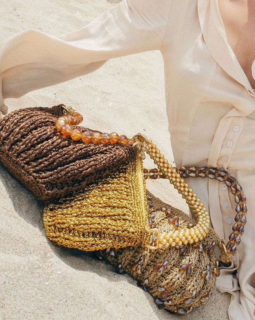 LABU SHOULDER BAG 〰 GOLD