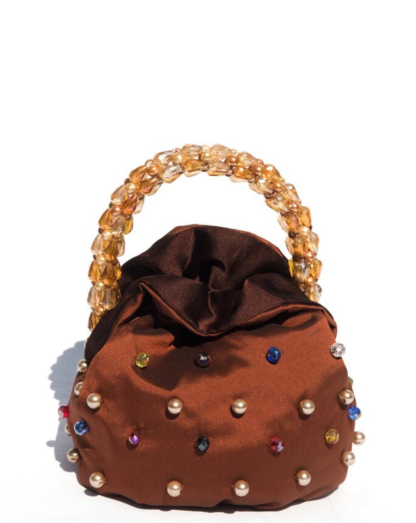GULA BEADED HANDLE BAG