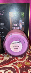 Twilight Wood Scented Body Butter