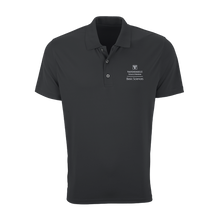 Load image into Gallery viewer, Vansport Omega Solid Mesh Tech Polo