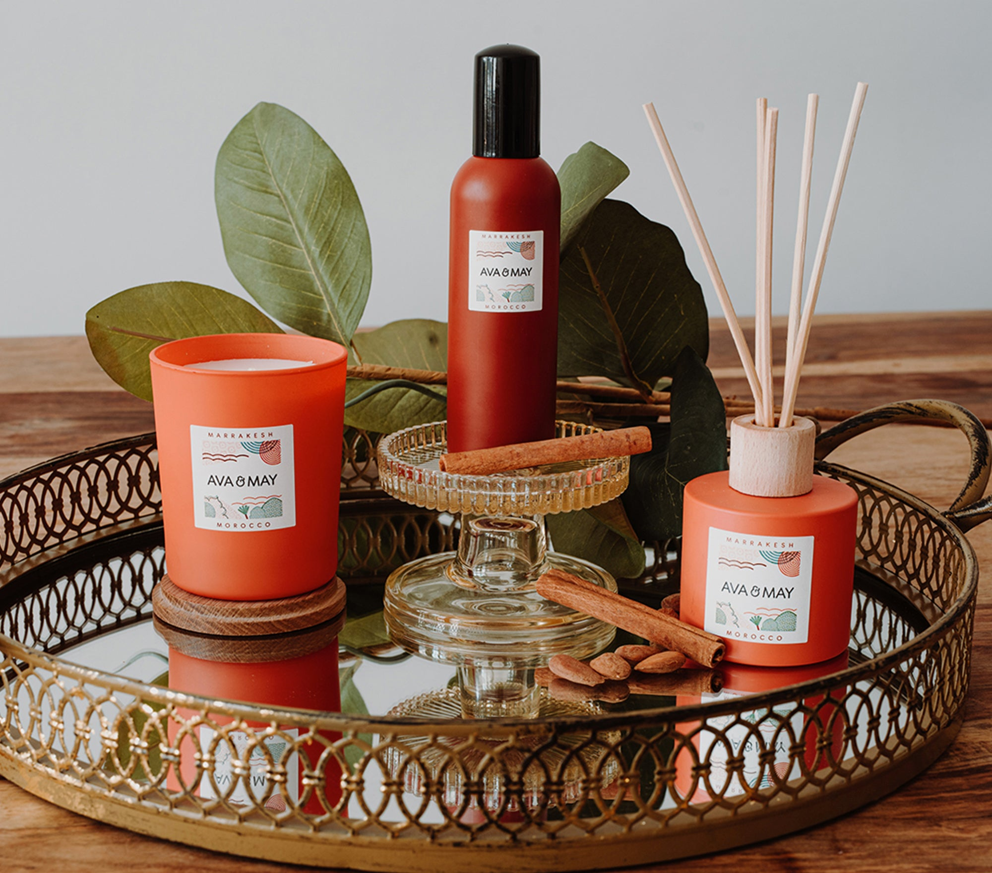 Marrakech Home Fragrances Collection
