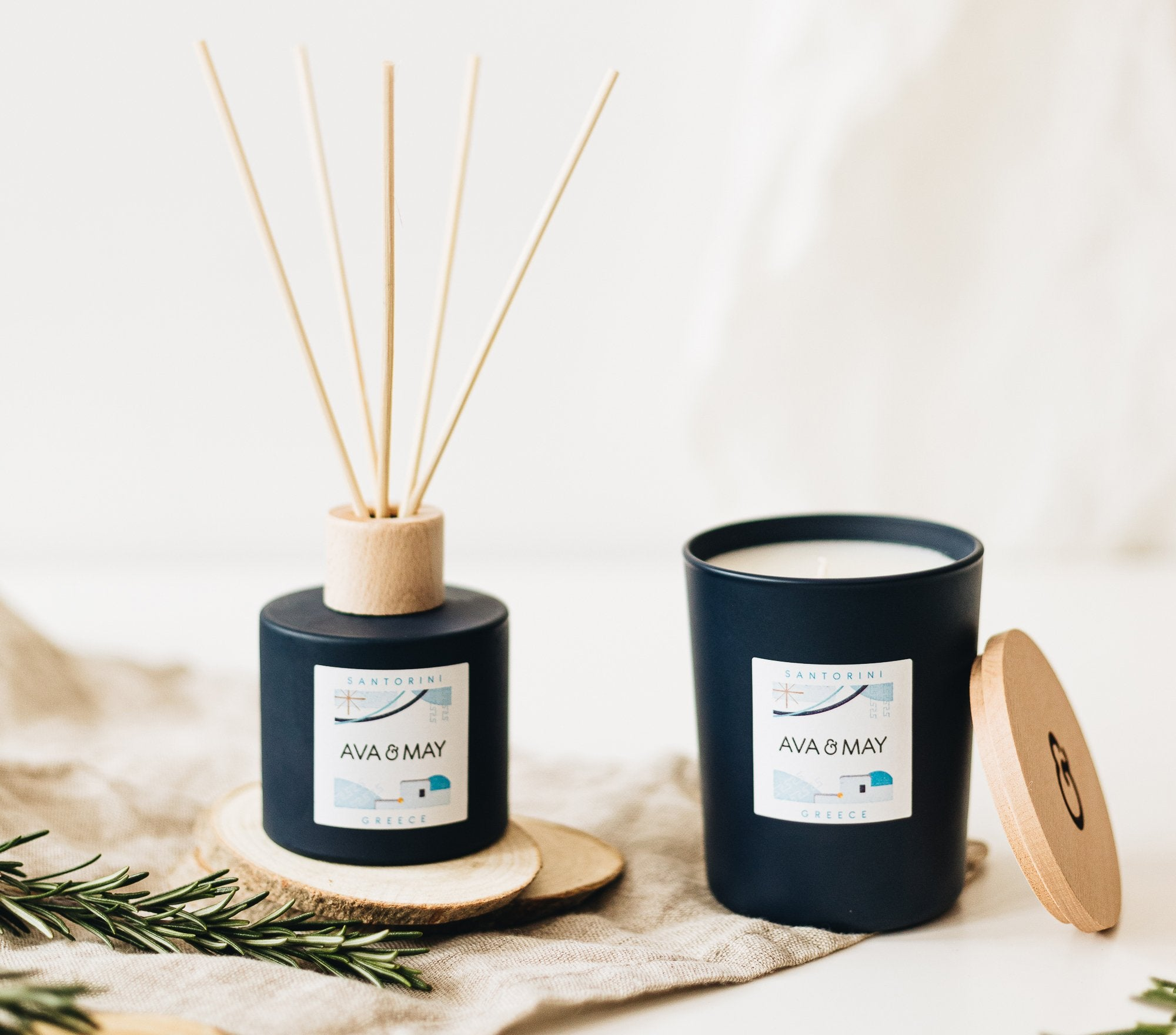 Santorin Home Fragrance Set