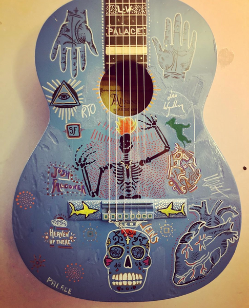 Guitar Auction for Josh Falconer