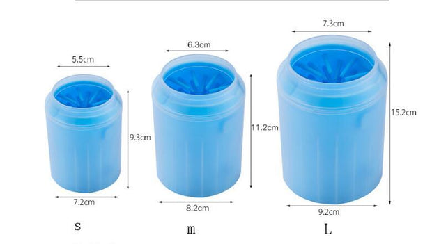 Dog Paw Cleaner Cup - Best Quality Pet Dog Snuffle Bowls and Mats Online- Family Pooch