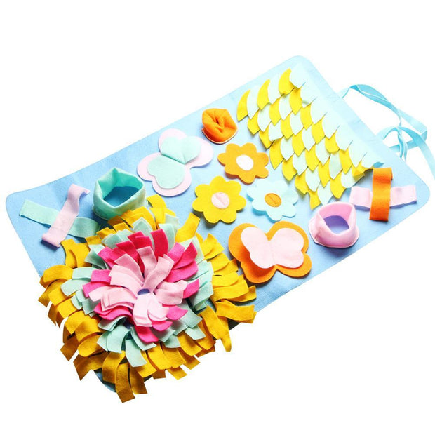 Pet Dog Snuffle Mat - Best Quality Pet Dog Snuffle Bowls and Mats Online- Family Pooch