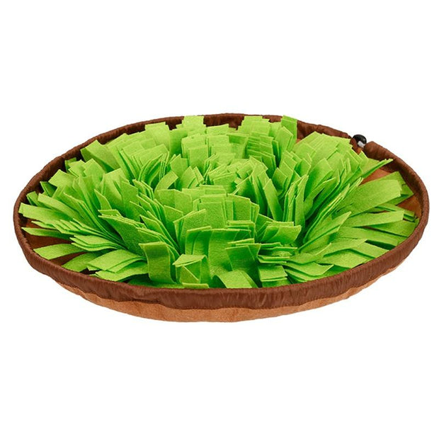 Round Pet Snuffle Bowl - Best Quality Pet Dog Snuffle Bowls and Mats Online- Family Pooch