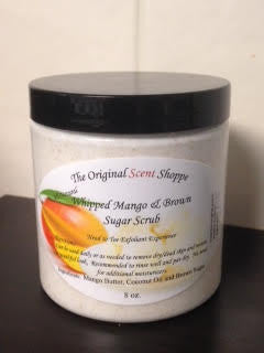 8oz Whipped Mango & Brown Sugar Scrub