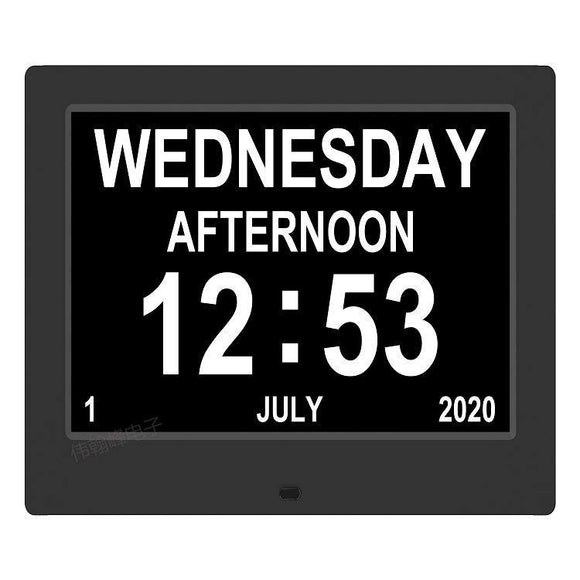 "8 Languages 7"" Screen Smart Clock - TOV Collection"