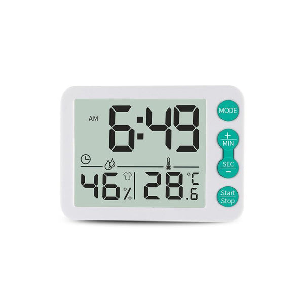 Digital Thermometer Clock - TOV Collection
