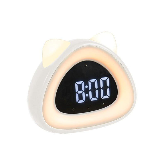 Cute Cat Ear Multifunctional Smart Clock - TOV Collection