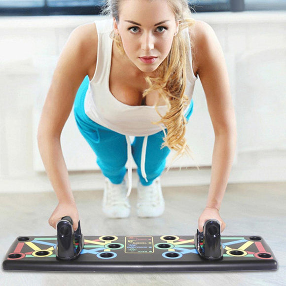14in1 Push Up Gym Board