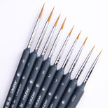 Marie's Paint Brush Set Miniature Hook Line Pen