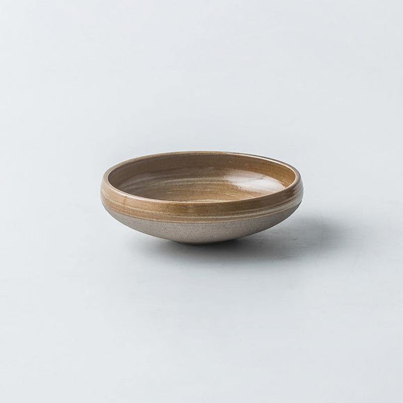 Akihiko Antique Hiragata Bowl - TOV Collection