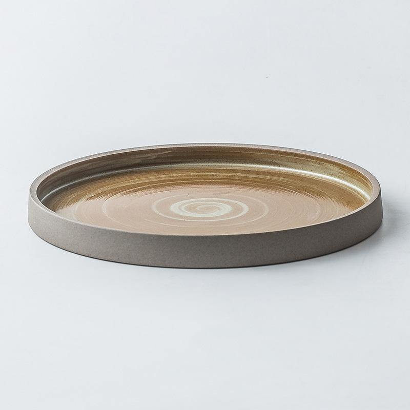 Akihiko Antique Serving Plate - TOV Collection