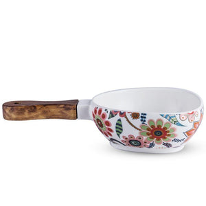 Batèk Floral Handle Bowl - TOV Collection