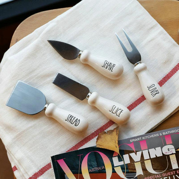Cheese Knife 4-Piece Set - TOV Collection