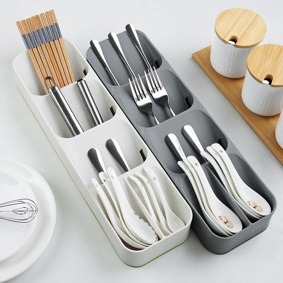Compact Cutlery Drawer Storage Box