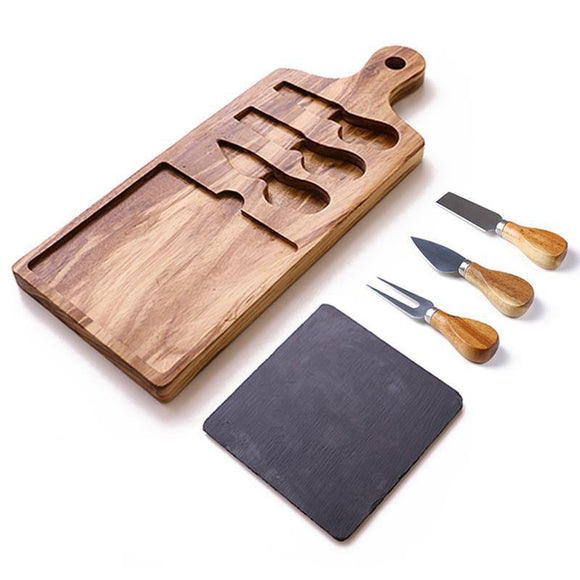 G'vinah Slate and Cheese Board Set - TOV Collection
