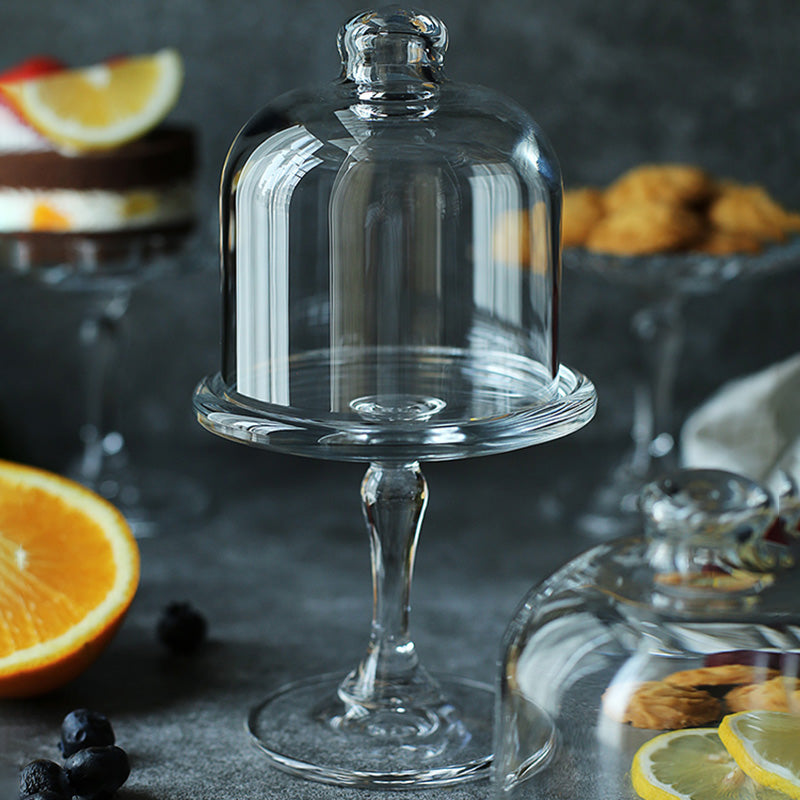Glass Domed Cake Stand