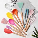 Keshet Colorful Silicone Utensil Sets - TOV Collection