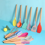 Keshet Colorful Silicone Utensil Sets