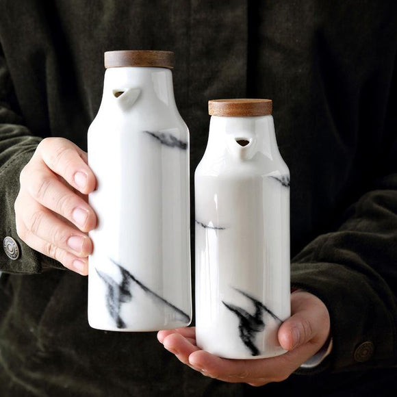 Marbling Sauce Jar - TOV Collection