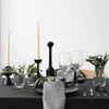 Moretti Black Taper Candle Holder