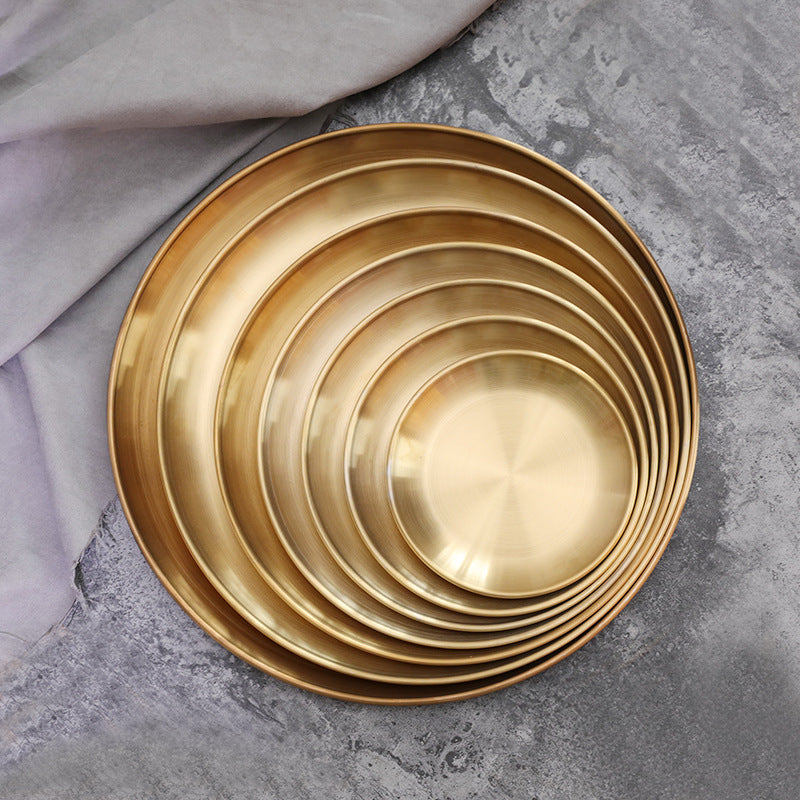 Runi Golden Tray