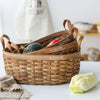Sheli Wood Basket