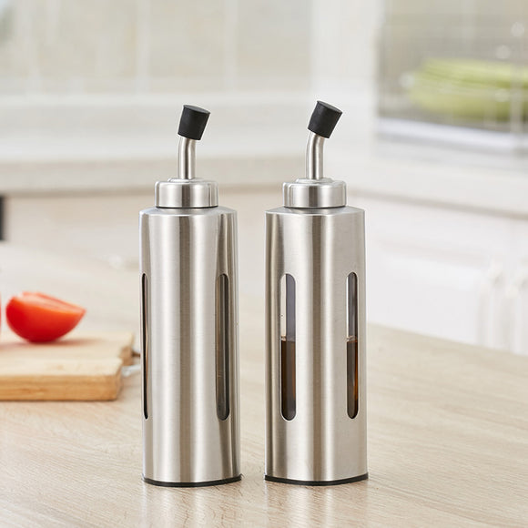 Trendy Style Stainless Steel Cruet Bottle